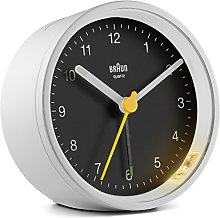 Braun Classic Analogue Clock with Snooze and