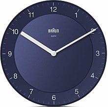 Braun Classic Analogue Wall Clock with Quiet