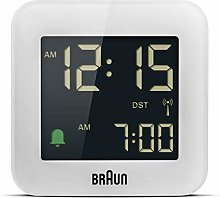 Braun Digital Radio Controlled Travel Alarm Clock