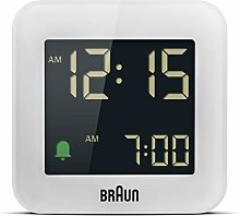 Braun Digital Travel Alarm Clock with Snooze,