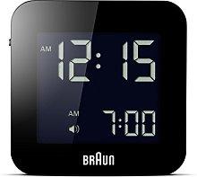 Braun Digital Travel Clock with Snooze, Compact
