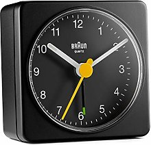 Braun Quartz Travel Alarm Clock Classic Alarm