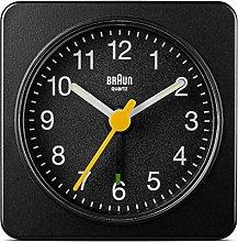 Braun Travel Alarm Clock Black BNC019BK, 2.5 x 5 x
