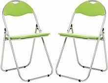 Bravich 2X Green Padded Folding Chair |