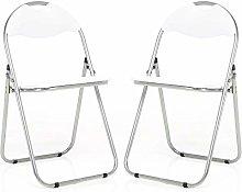 Bravich 2X White Padded Folding Chair |
