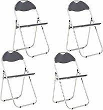 Bravich 4X Black Padded Folding Chair |