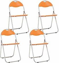 Bravich 4X Orange Padded Folding Chair |
