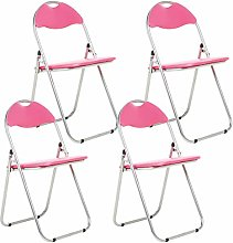 Bravich 4X Pink Padded Folding Chair | Comfortable