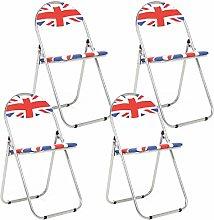 Bravich 4X Union Jack Padded Folding Chair |