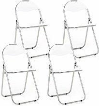 Bravich 4X White Padded Folding Chair |