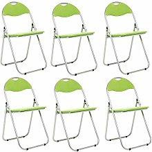 Bravich 6X Green Padded Folding Chair |