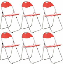 Bravich 6X Red Padded Folding Chair | Comfortable