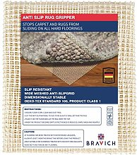 BRAVICH Area Rug Gripper Pad For Hard Floors |