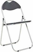 Bravich Black Padded Folding Chair | Comfortable