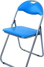 Bravich Blue Padded Folding Chair | Comfortable