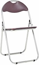 Bravich Brown Padded Folding Chair | Comfortable