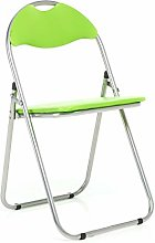 Bravich Green Padded Folding Chair | Comfortable