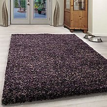 Bravich Large Purple Grey and Beige Mix Blend