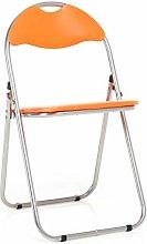 Bravich Orange Padded Folding Chair | Comfortable