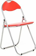 Bravich Red Padded Folding Chair | Comfortable