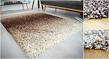 Bravich RugMasters 3 Tone Brown Beige and Ivory