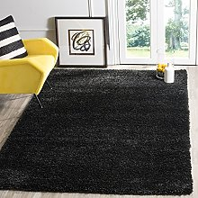 BRAVICH RugMasters Black Extra Extra Large Rug 5