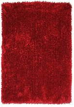 BRAVICH RugMasters Bright Red Circle Rug 5 cm