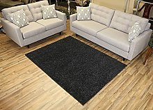 Bravich RugMasters Charcoal/Anthracite Runner Rug