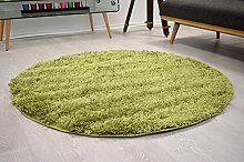 Bravich RugMasters Green Circle Rug 5 cm Thick