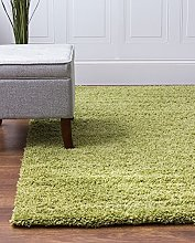 Bravich RugMasters Green Large Rug 5 cm Thick Shag