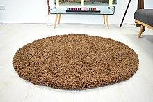 Bravich RugMasters Light Brown Circle Rug 5 cm