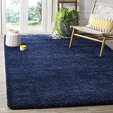 Bravich RugMasters NAVY BLUE Small Rug 5 cm Thick