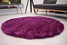 Bravich RugMasters Purple Lila Circle Rug 5 cm