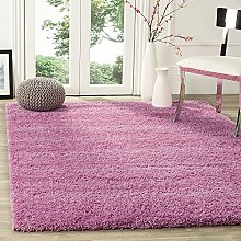Bravich RugMasters Soft Pink Large Rug 5 cm Thick