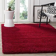 BRAVICH RugMasters Wine Red Large Rug 5 cm Thick