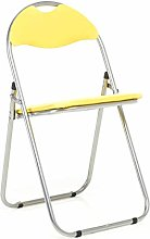 Bravich Yellow Padded Folding Chair | Comfortable