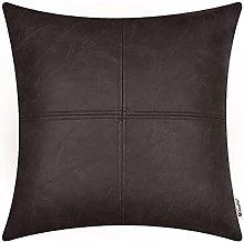 BRAWARM Coffee Luxurious Faux Leather Hand