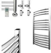 BRAY Curved Towel Warmer / Heated Towel Rail,
