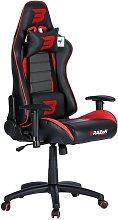 BraZen Sentinel Elite PC Gaming Chair - Red