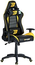 BraZen Sentinel Elite PC Gaming Chair - Yellow