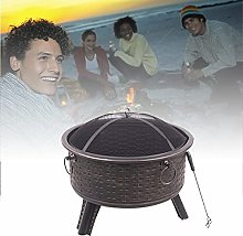 Brazier Outdoor Barbecue Terrace, Charcoal Grill