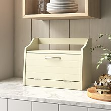 Bread Bin Brambly Cottage Colour: Creamy Yellow