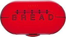 Bread Bin Symple Stuff Colour: Dark Red