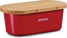 Bread Bin Zeller Colour: Red