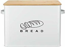 Bread Box, G.a HOMEFAVOR Extra Large Metal Bread