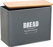 Bread Box - Metal Bread Bin Loaves Storage