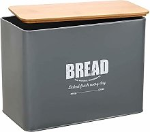 Bread Box-Metal Bread Bin Loaves Storage Canister