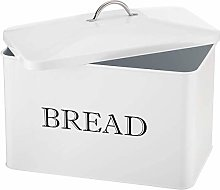 Bread Boxes Retro Large Metal Home Storage Bread