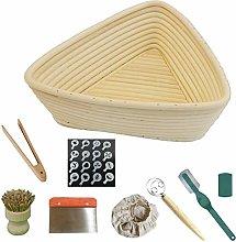 Bread Proofing Basket Set 8pcs, Bakery Box Baking