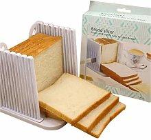 Bread Slicer Cutter, Foldable Bread Slicer,